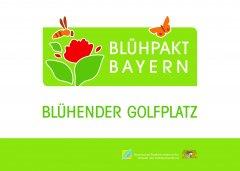 Blühpakt Bayern - Blühender Golfplatz Bild 2